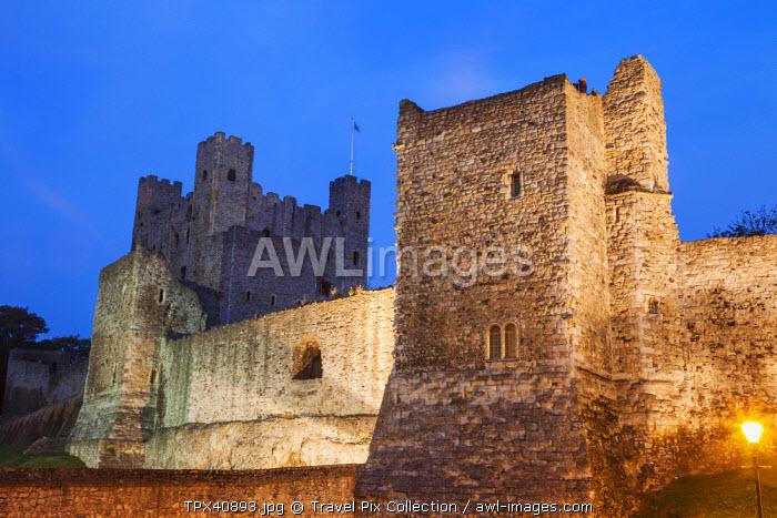 England, Kent, Rochester, Rochester Castle