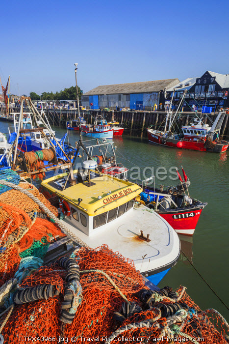 awl-images.com - England / England, Kent, Whitstable, Whitstable Harbour