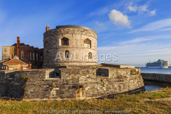 England, Hampshire, Calshot, Calshot Castle