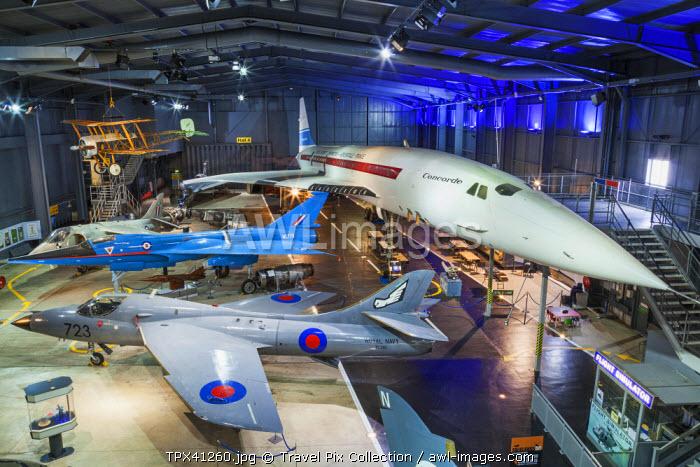 England, Somerset, The Royal Navy Fleet Air Arm Museum, Concorde