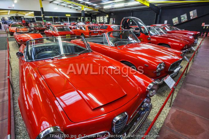 England, Somerset, Haynes Motor Museum, Display of Vintage Cars