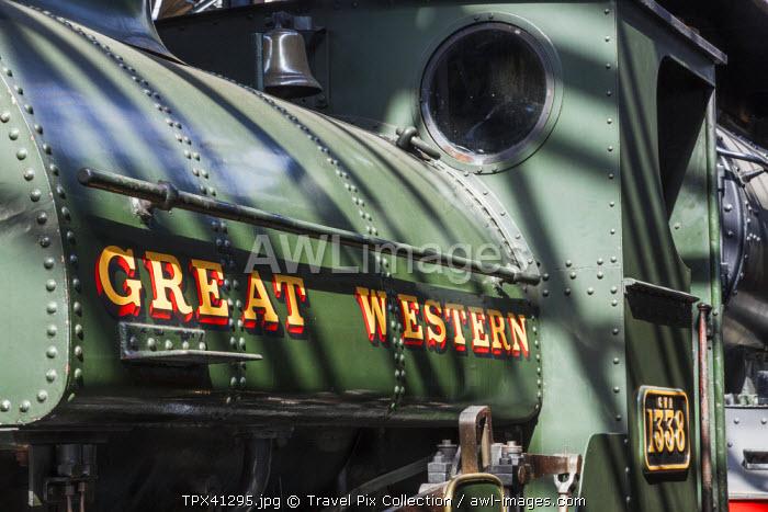England, Oxfordshire, Didcot, Didcot Railway Centre, Vintage Steam Trains