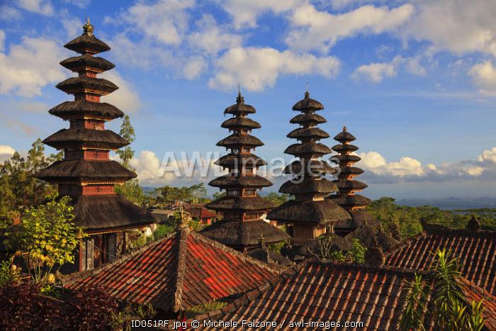 Indonesia, Bali, Besakih, Pura Agung Besakih temple complex