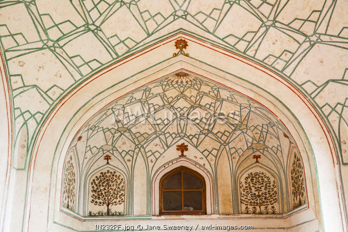 India, Delhi, Old Delhi, Red Fort, Hathi Pol (Elephant gate)
