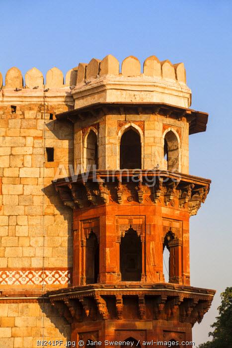 India, Delhi, Purana Quila  - Old Fort, Qila-e-Kutiha mosque built by Sher Shah