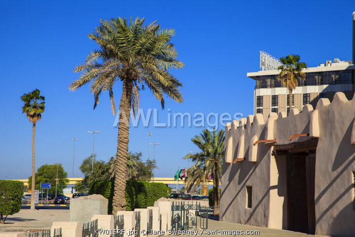 Kuwait, Kuwait City, Al-Jahra gate - Old city gates