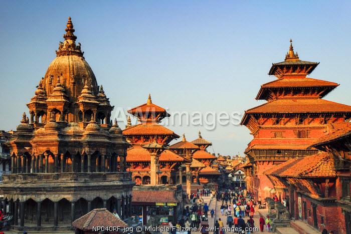 Nepal, Kathmandu, Patan (UNESCO Site), Durbar Square