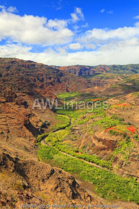 USA, Hawaii, Kauai, Waimea Canyon