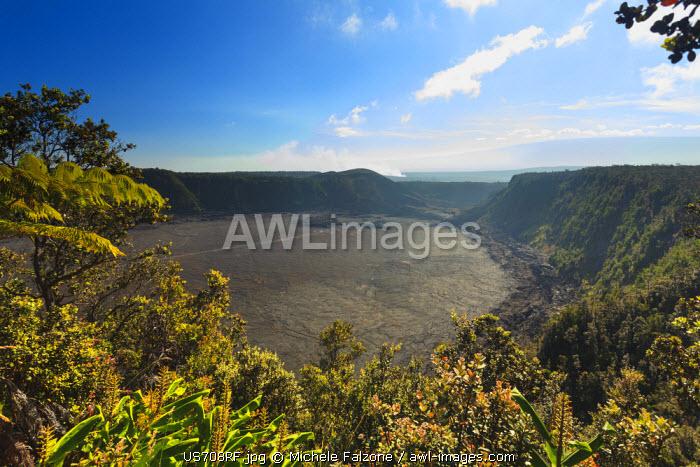 USA, Hawaii, The Big Island, Hawaii Volcanoes National Park (UNESCO Site), Kilauea Caldera