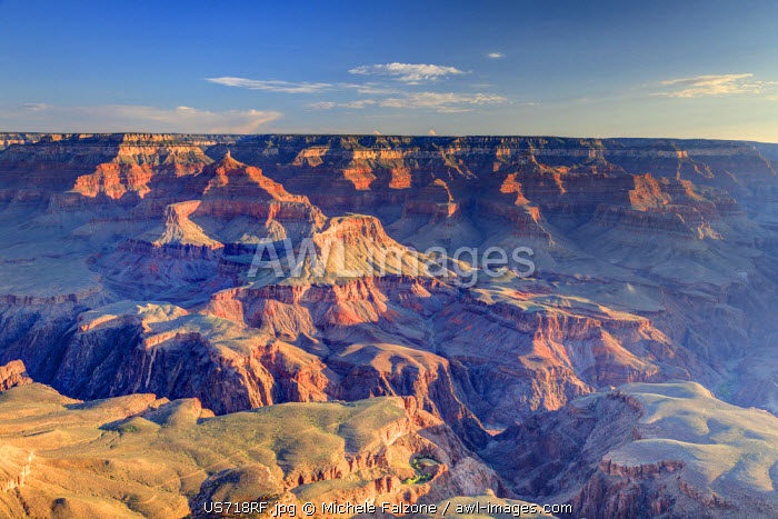 USA, Arizona, Grand Canyon National Park (South Rim), Yavapai Point