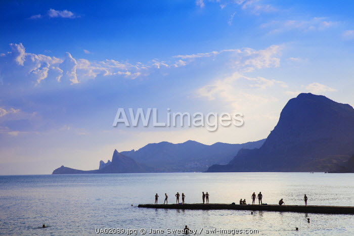 awl-images.com - Ukraine / Ukraine, Crimea, Sudak, Beachfront
