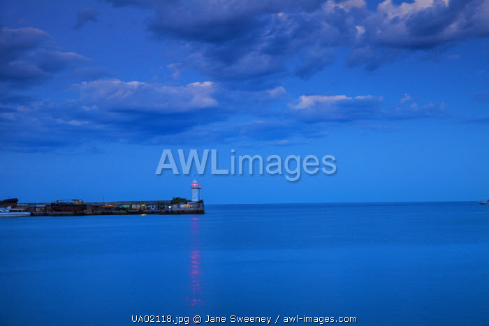 Ukraine, Crimea, Yalta, Lighthouse