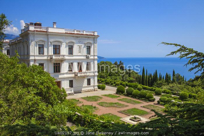 Ukraine, Crimea, Livadia Palace, location of the Yalta conference in 1945