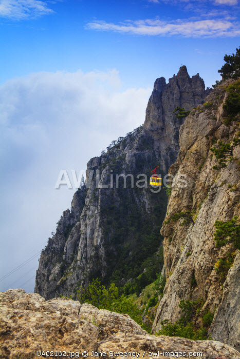 Ukraine, Crimea, Al Petri Mountain
