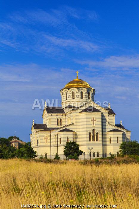 Ukraine, Crimea, Sevastopol, Khersoness, St Vladimir's Cathedral