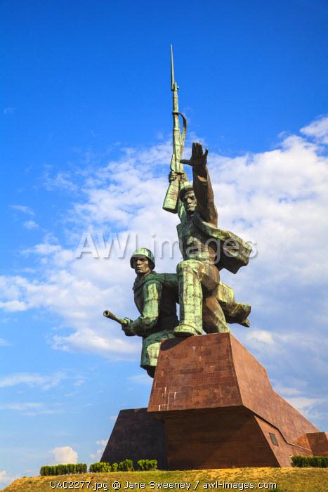 Ukraine, Crimea, Sevastopol, War memorial