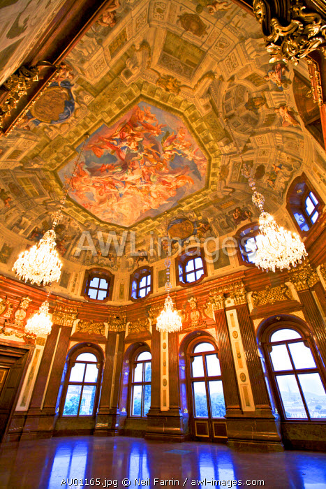 Interior of Belvedere Palace, Vienna, Austria, Central Europe