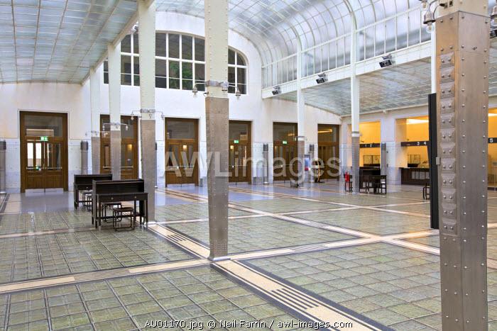 Otto Wagner's Postsparkasse, Vienna, Austria, Central Europe