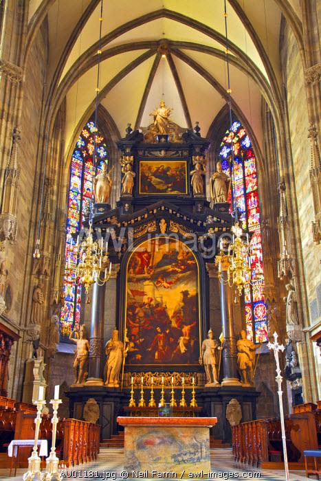 High Altar, St. Stephen's Cathedral, Vienna, Austria, Central Europe