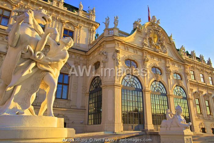 Upper Belvedere Palace, Vienna, Austria, Central Europe