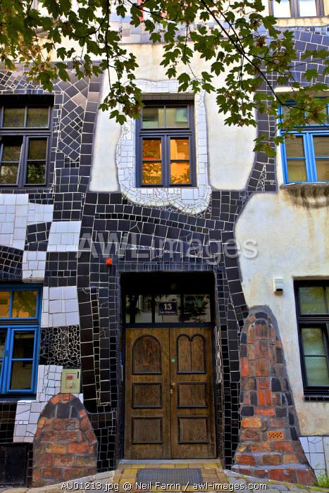Exterior Kunst Haus Wien Hundertwasser Museum, Vienna, Austria, Central Europe