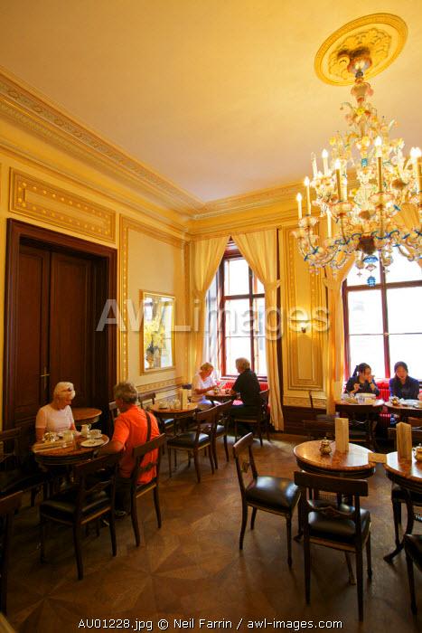 Demel Restaurant and Coffee Shop, Vienna, Austria, Central Europe