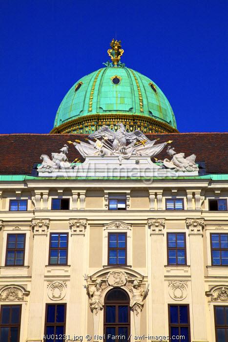 Hofburg Palace Exterior, Vienna, Austria, Central Europe