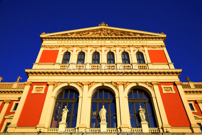 Musikverein, Society of Friends of the Music, Vienna, Austria, Central Europe