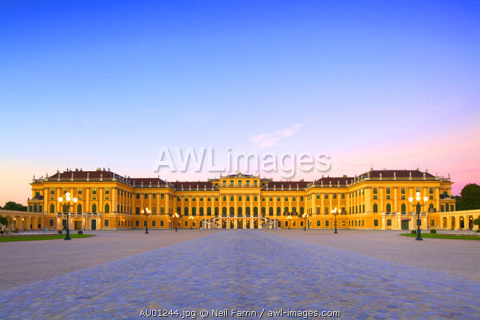 Schonbrunn Palace, Vienna, Austria, Central Europe