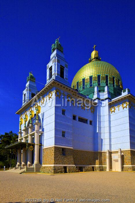 Kirche Am Steinhof, Church of St. Leopold, Vienna, Austria, Central Europe