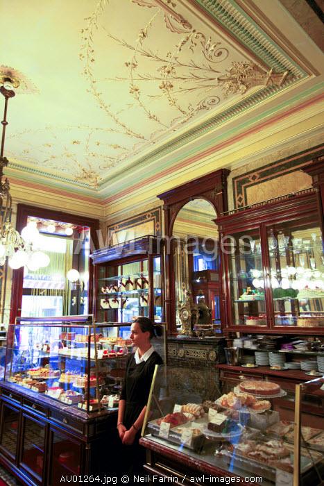 Demel Restaurant, Coffee Shop and Bakery, Vienna, Austria, Central Europe