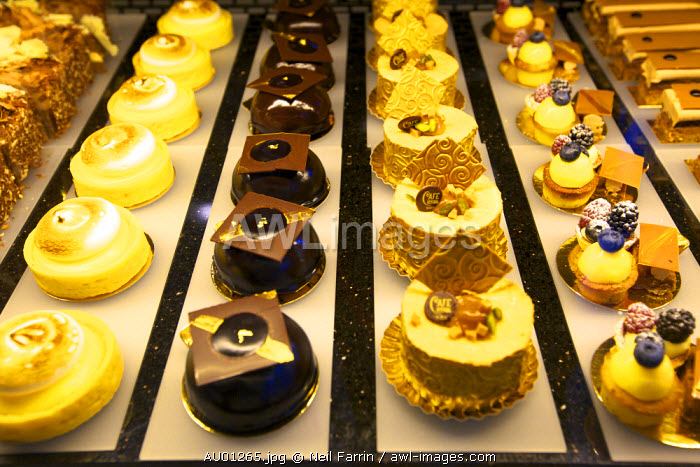 Cake Display, Cafe Central, Vienna, Austria, Central Europe