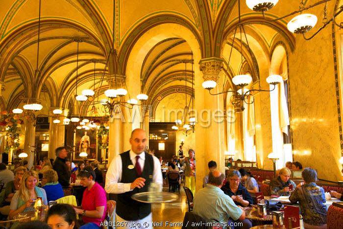 awl-images.com - Austria / Cafe Central, Restaurant and Coffee Shop, Vienna, Austria, Central Europe