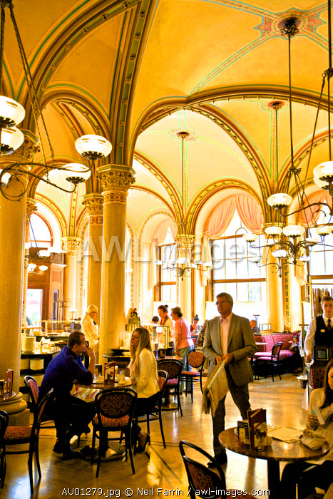 Cafe Central, Restaurant and Coffee Shop, Vienna, Austria, Central Europe
