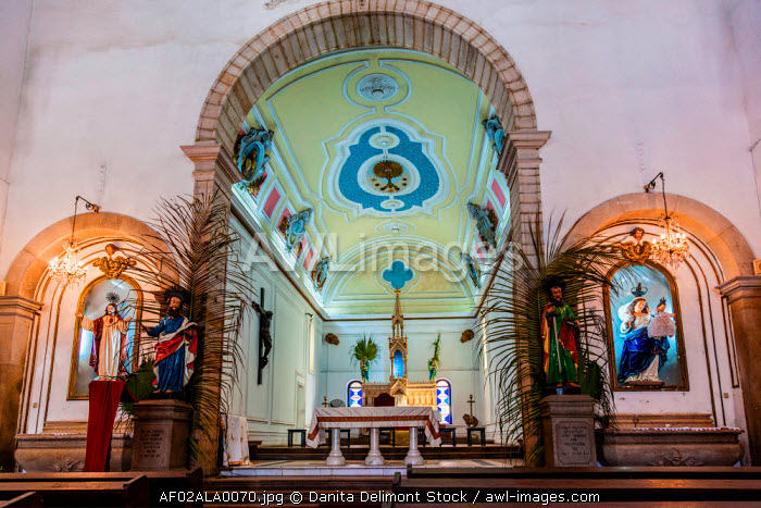 Africa, Angola, Luanda. The Church of Our Lady of the Remedies.