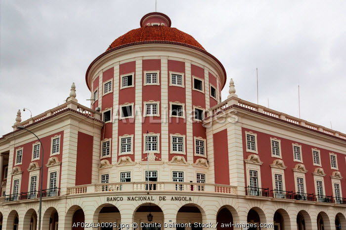Africa, Angola, Luanda. National Bank of Angola.