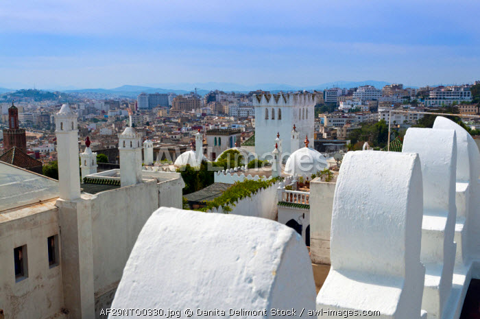 View of Tangier from the Medina, Tangier, Morocco, North Africa