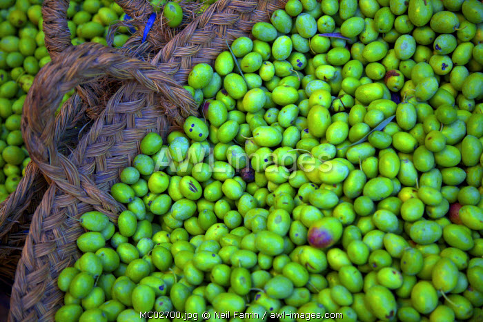 Olives, Fez, Morocco, North Africa