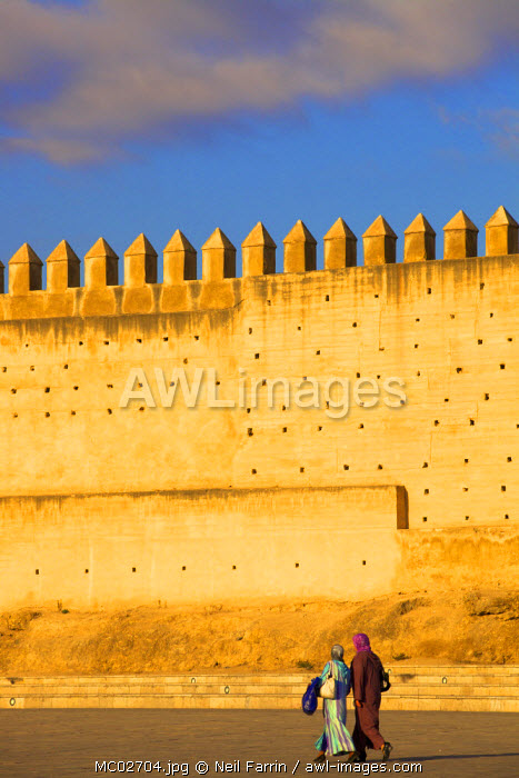 City Wall, Fez, Morocco, North Africa