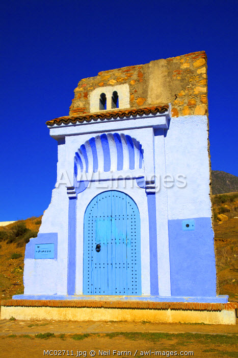 Entrance To Town, Chefchaouen, Morocco, North Africa