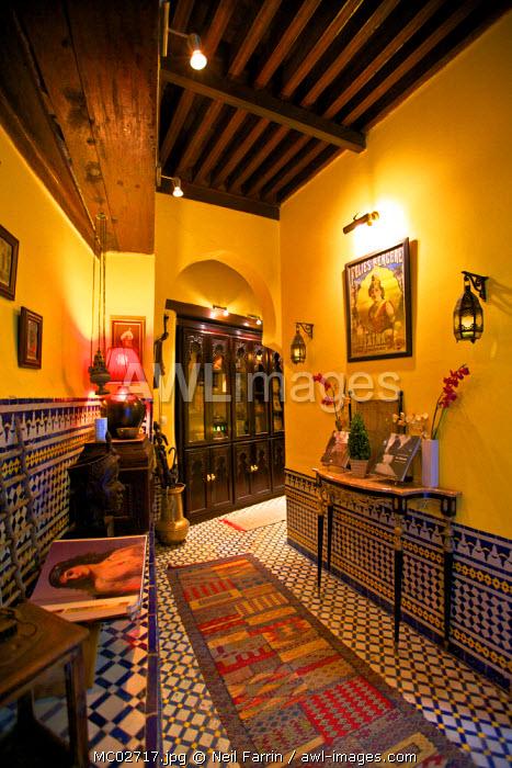Riad, Fez, Morocco, North Africa