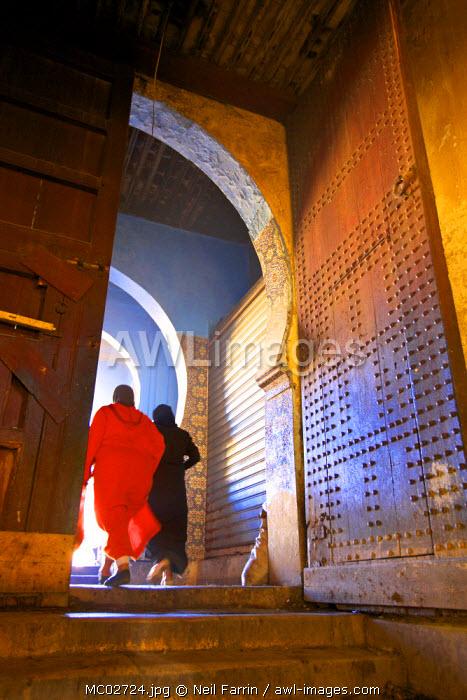 Gateway To Market, Medina, Meknes, Morocco, North Africa