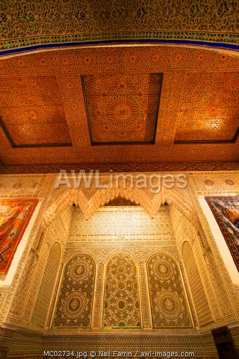 House Interior, Fez, Morocco, North Africa
