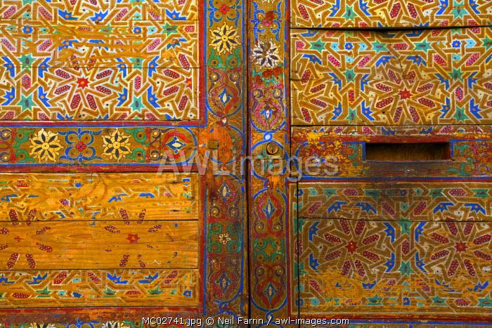 Door Detail, Fez, Morocco, North Africa