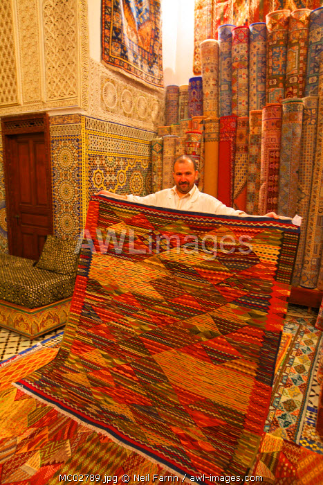 Carpet Shop, Fez, Morocco, North Africa