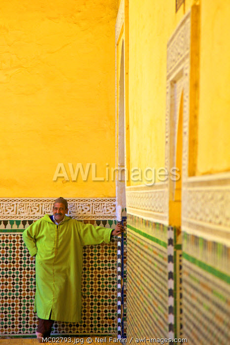 Interior Of Mausoleum of Moulay Ismail, Meknes, Morocco, North Africa
