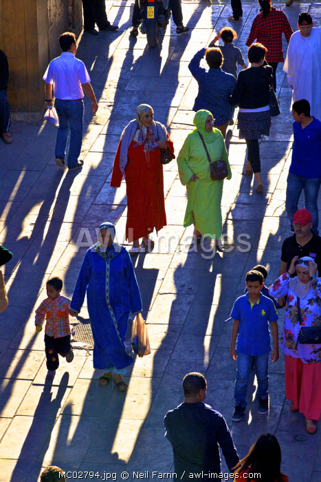 People, Fez, Morocco, North Africa