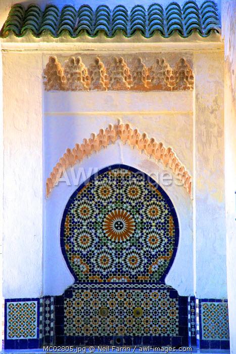 Interior Of Dar Jamai Museum, Meknes, Morocco, North Africa