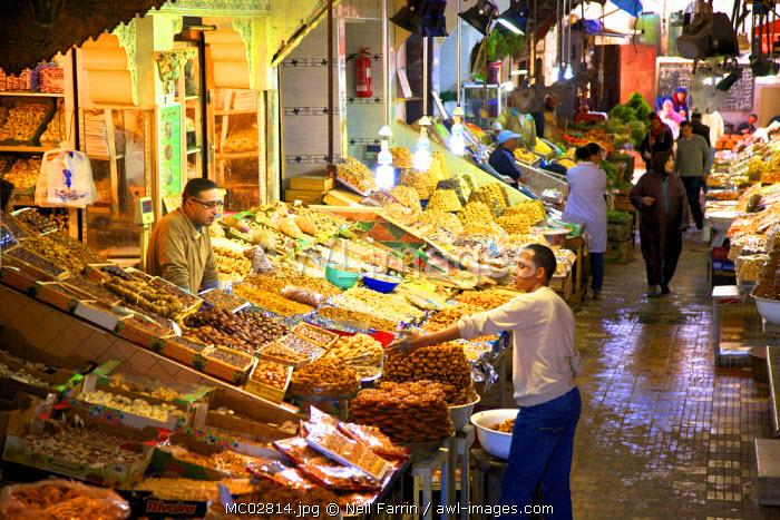 Market, Medina, Meknes, Morocco, North Africa
