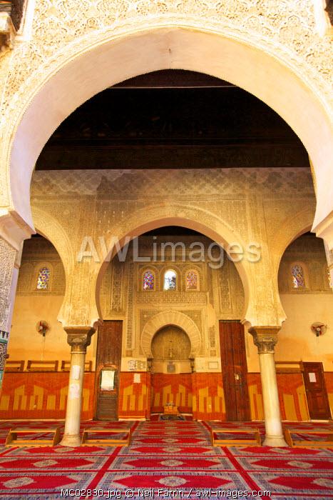 Bou Inania Medersa, Fez, Morocco, North Africa